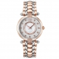 Preview: Cerruti Carisola Ladies Damenuhr Bicolor Rose Silber Edelstahl Kristall CRM140STR04MRT