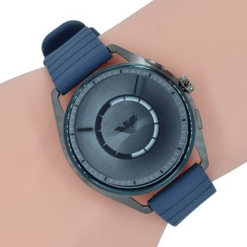 Emporio Armani Connected Herren Uhr Smartwatch ART5008 Blau