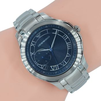 Emporio Armani Smartwatch Connected Herren Uhr ART5010 Silber Front
