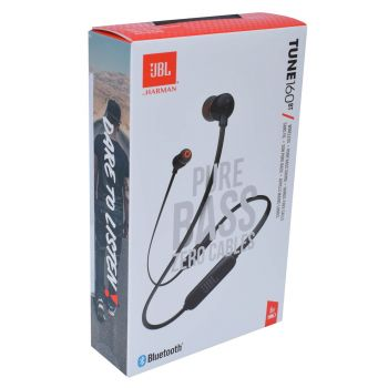 JBL In Ear Kopfhörer Bluetooth Headset Pure Bass Tune 160 BT Front