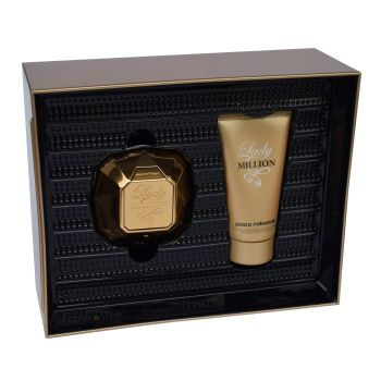 Paco Rabanne Lady Million 50 ml Bodylotion Set Duftset Geschenk