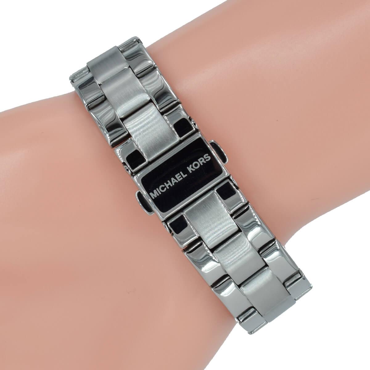 Michael Kors Damen Uhr Smartwatch Access Runway Mkt5044 Silber Armband
