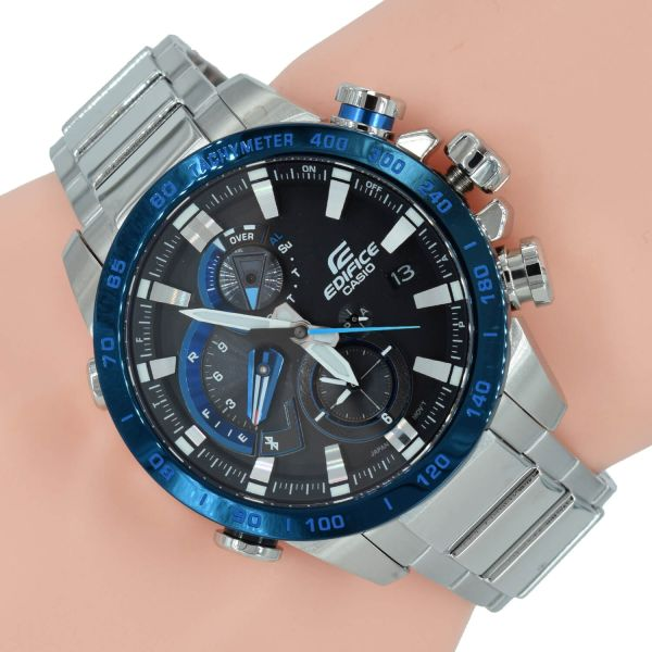 Casio Edifice Herrenuhr EQB-800DB-1AER Bluetooth Solar Uhr Premium