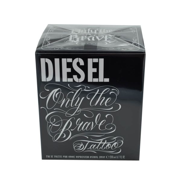 Diesel Only the Brave Tattoo Eau de Toilette 200 ml Parfum Herren EDT Duft Maxi Faust