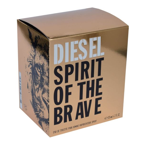 Diesel Spirit of the Brave Eau de Toilette 125 ml XL Herren Parfum Box