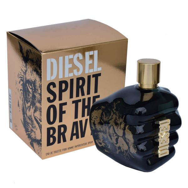 Diesel Spirit of the Brave Eau de Toilette 125 ml XL Herren Parfum Set