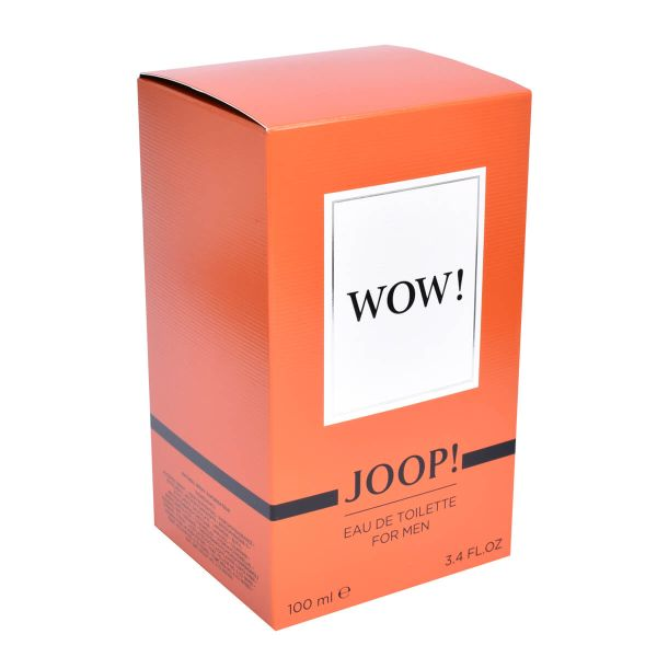 JOOP! WOW! For Men Eau de Toilette 100 ml Box