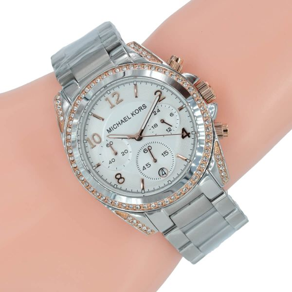 Mk Uhren Damen Silber
