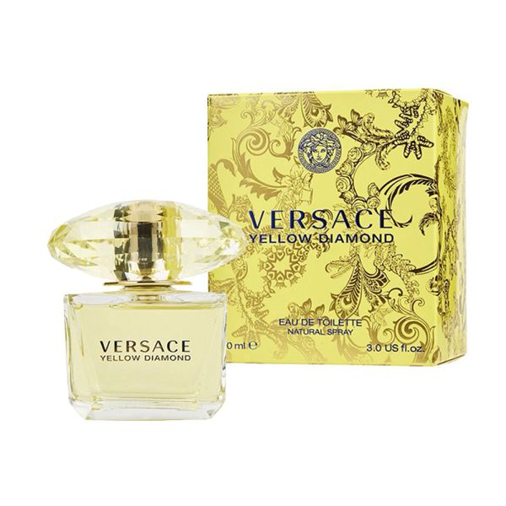 Eau 90 Parfum De Versace Ml Duft Damen Toilette Yellow Diamond Für mIvgf7Yb6y