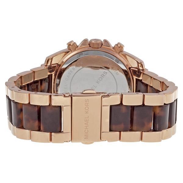 michael kors mk5859 damen armbanduhr mit chronograph rosegold neu ovp uhren und schmuck. Black Bedroom Furniture Sets. Home Design Ideas