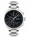 Hugo Boss 1513477 Grand Prix Chronograph Silber Herrenuhr Armbanduhr